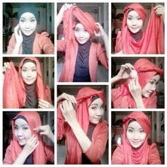 Gorgeous! Party hijab style by @diiinyyy .  Thankyou dear, keep inspiring :)