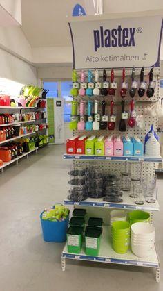 Pirteä hyllynpääty myy itse itsensä! :)  Plastex - Valmistettu Suomessa