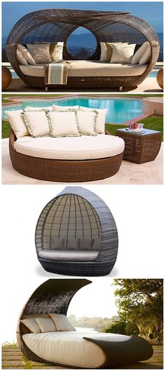 Make Outdoor Living Comfy with 15 Rattan Daybeds     Your outdoor ambiance can be filled with plants and water features. It sure made your garden exude an aura that is relaxing and tranquil. But it would even be nicer if you will be able to snuggle near while listening to the flow of water and...