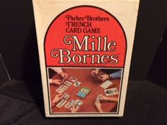 Mille Bornes Card Game 1962 by CrystalTreasureTrunk on Etsy