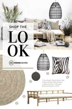 Effortless, done-for-you home-styling! Lounge set-up in Zebra summer theme. Tropical Style, Tropical Decor, Bamboo Furniture, Outdoor Furniture, Zebra Print Rooms, Trendy Home Decor, Safari Theme, Rustic White, Classic Furniture
