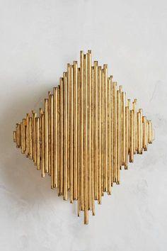 Diamond Goldleaf Sconce $648
