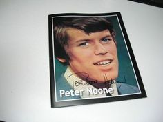Original Signed Peter Noon of Hermans Hermits 300 Photo Book | eBay