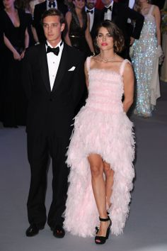 Prince Pierre Casiraghi and Princess Charlotte Casiraghi