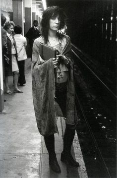 Patti Smith  I love her sooooooo much :)