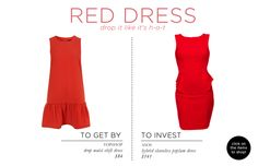 Fashion Essentials Part Two via The Everygirl // RED DRESS