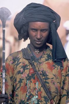 jeune homme Peul au Niger