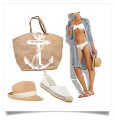 Sand sailor by natipureidea on Polyvore featuring Zimmermann, French Connection, Mud Pie, Hat Attack, Sailor, nauticalstyle, straw, marine and canvas Nautical Looks, Nautical Fashion, Mud Pie, French Connection, Sailor, Canvas, Hats, Polyvore, Tela