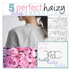 """5 perfect haizy day essentials"" by uniform-magazine ❤ liked on Polyvore featuring art, haileestips and haizy"
