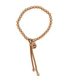 Michael Kors Collection Heritage Leather Beaded Stretch Bracelet #accessories  #jewelry  #bracelets  https://www.heeyy.com/suggests/michael-kors-collection-heritage-leather-beaded-stretch-bracelet-rose-gold-nude/