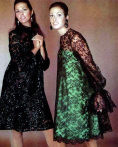 L'Officiel magazine 1967. Pierre Balmain & Christian Dior