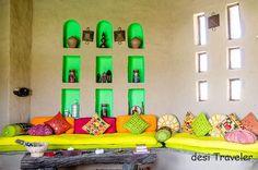 Beautiful #Colorfull #Interiors, #HomeDecor at @SewaraHQ's Lakshman Sagar Hotel @ #Rajasthan  http://www.sewara.com/