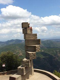 Stairway to Heaven; Escola Privat Nia De Montserrat, Monestir de Montserrat, Spain