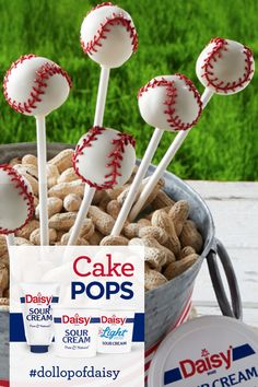 4th Of July Desserts, Fourth Of July Food, Just Desserts, Summer Snacks, Summer Recipes, Cake Pops, Cake Recipes, Dessert Recipes, Daisy