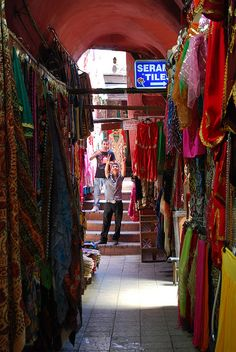 Grand Bazaar (Kapali Carsi, Covered Market) in Istanbul, Turkey