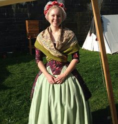 Lovely Dutch 18th century colonial dress by Isabel Northwode