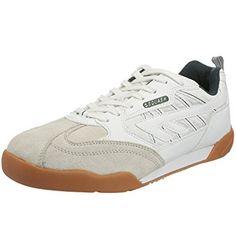 Hi-Tec Mens White Badminton Squash Indoor Tennis Court Shoes Trainers