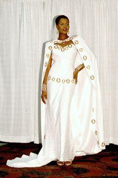 african wedding dress cape