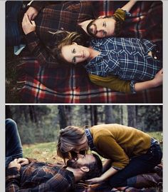 Great photos for a fall save the date/ engagement