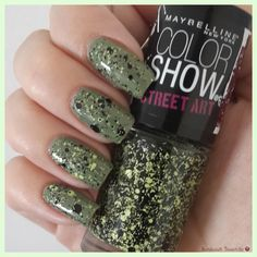 Maybelline Color Show Green Graffiti - Swatch