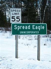 Image result for Spread Eagle, Wisconsin