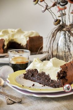 Espresso & Rum Chocolate Cloud Cake with Tonka Bean Whipped Cream