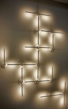 Jeff Sheats Designs is always looking for functional and artist pieces. Check out these LED lights that we found while researching wall sconces.