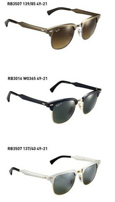 2be5f080b9c Ray Ban RB3016 Clubmaster Sunglasses Mock Tortoise Arista Frame