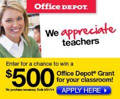 """Here's a contest that I found out about from """"Teachers Count.""""  Good luck!   OC Beach Teacher http://www.teacherspayteachers.com/Store/Ocbeachteacher"""