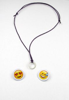 Necklace  Iphone  http://de.dawanda.com/product/73253091-Emoji-Emoticon-Halskette