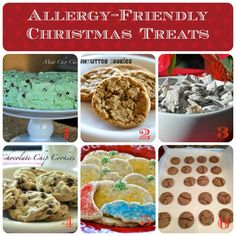 Top 8 Allergy Free Holiday Desserts! Free of dairy, egg, soy, peanuts, tree nuts, and gluten. Gluten Free and Vegan