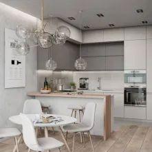 Affordable kitchen design ideas 02 Luxury Kitchen Design, Kitchen Room Design, Best Kitchen Designs, Dining Room Design, Kitchen Layout, Home Decor Kitchen, Interior Design Kitchen, Home Design, Design Ideas