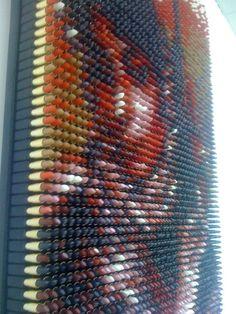 Politically-Driven Portrait Made of 3,500 Lipsticks - My Modern Metropolis