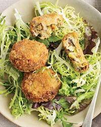 Leek and Mushroom Croquettes // More Main-Course Salads: http://fandw.me/pyK