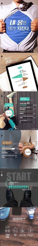 직장인들의 건강 관리 방법은? [인포그래픽] #Health / #Infographic ⓒ 비주얼다이브 무단 복사·전재·재배포 금지