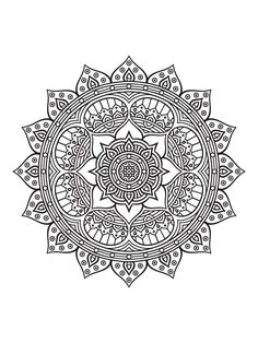 Mandala To Download In Pdf 2From The Gallery Mandalas