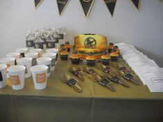 My Hunger Games Birthday Party <3  HG PARTY TABLE ♥