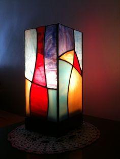 LAMPARA VITRAL GRANDE