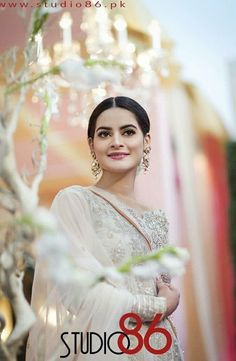 Beautiful click of at Nikah . Bollywood Bridal, Vintage Bollywood, Pakistani Bridal Dresses, Wedding Dresses, Pakistani Actress, Bride Look, India, Bollywood Actors, Celebs