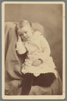 Photograph of Gilbert Dickinson, Emily's nephew.
