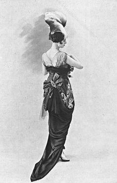 Robe du soir par Beer, 1914.