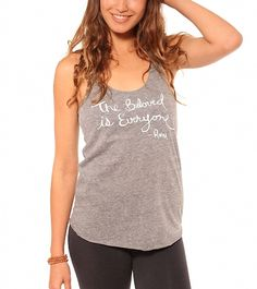 Be Love Women's The Beloved Racer Tank