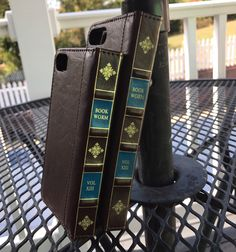 Real Leather iPhone 7/7 Plus/6/6s/6 Plus/6s Plus book worm book style case. Wallet case. Flip case. Leather case. Book wallet. by jtbcompanyiphoneshop on Etsy https://www.etsy.com/listing/269356665/real-leather-iphone-77-plus66s6-plus6s