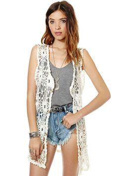 maybe go loose tank and long necklace