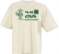 4-H Club Silly Cow - 4-H Club Design SP2774