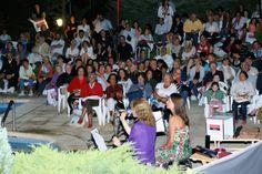 Jueves 16/1 en el Marcín. #ConciertosenelBosque a pleno con +400 ps. Presenta Banco Supervielle