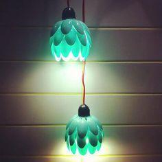 diy-materiais-reciclaveis-luminaria-com-colher-de-plastico (10)