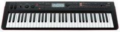 Korg KROSS 61 Mobile Workstation Keyboard - With its fast sound selection and 16-track sequencer, the 9.5-pound KROSS 61 is a cross between a live-performance synth and a music-production workstation.