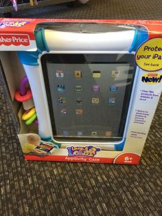 Fisher Price Apptivity Case - Protect your Ipad with this Fisher Price Apptivity Case.  Click the link below to see more of the great merchandise available at Lily Pads! - $11.50 #protection