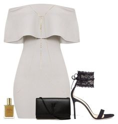 """Untitled #1848"" by kastinthegem ❤ liked on Polyvore featuring Gianvito Rossi, River Island, Estée Lauder and Yves Saint Laurent"